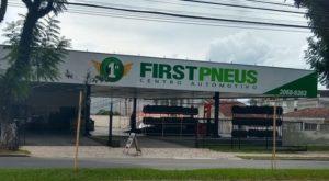 First Pneus Kennedy Curitiba - Site