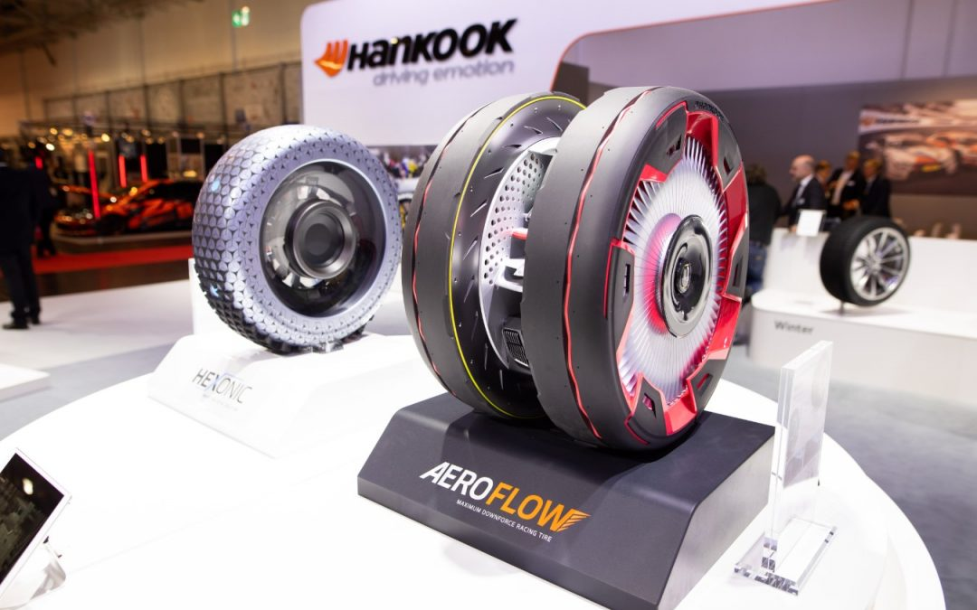 Hankook procura na Amazon suporte para desenvolvimento de pneus e tecnologia